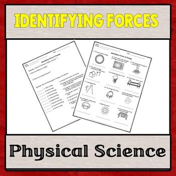 Identifying Types of Energy Worksheet