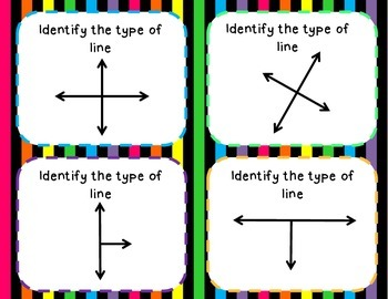 Identifying Types of Lines