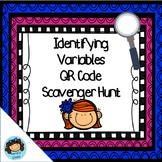 Identifying Variables QR Code Scavenger Hunt