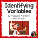 Identifying Variables Worksheet