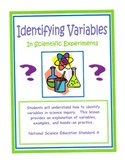 Identifying Variables in Scientific Experiments