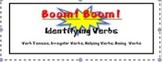 Identifying Verbs Classroom Game: Boom!Boom!