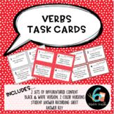Identifying Verbs Task Card Set
