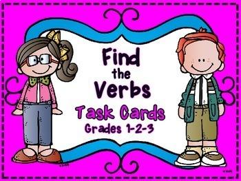 Verb Identification Task Cards