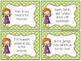 Identifying Verbs in Sentences Task Cards