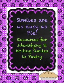 Identifying & Writing Similes in Poetry