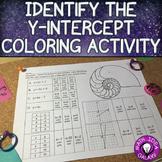 Y-Intercept Activity - Coloring Page