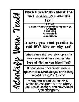 Identifying Your Text