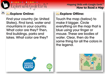 Identifying a Color-Coded Map - Explore - NOTEBOOK Gr. PK-2