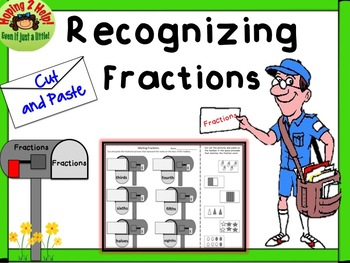 Fractions - Matching Fractional Words with a Picture