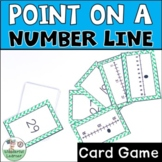 Identifying a point on a number line Go Fish Math Game TEKS 2.2F