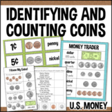 Identifying Coins and Counting Money Games