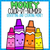 Identifying and Counting Money Color-By-Number B2S Themed