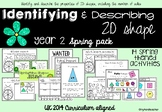 Identifying and Describing 2D Shapes Spring Pack UK Curriculum