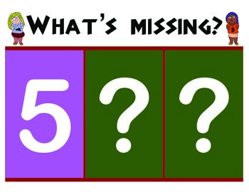 Identifying and Ordering Numbers from 0 - 9: