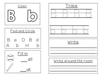 Identifying and Practicing the Letters of the Alphabet-Editable!