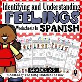 Identifying and Understanding Feelings Worksheets (Spanish)