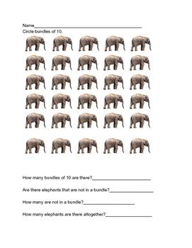 Identifying bundles of ten