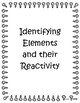 Identifying elements and their reactivity