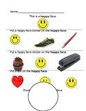 Identifying feelings: Happy
