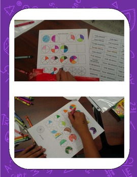 Identifying fraction Bingo!
