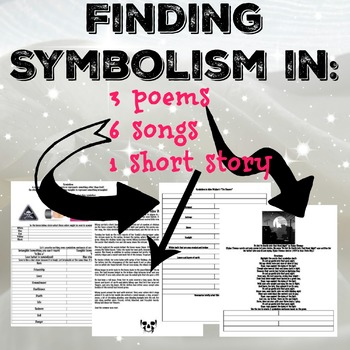 Identifying literary symbolism in music and literature