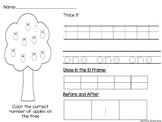 Identifying Numbers Practice Worksheets