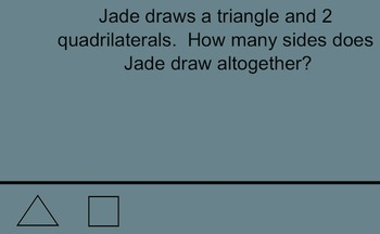 Identifying sides and vertices of 2D shapes