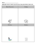 Identifying story elements graphic organizer