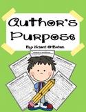 Identifying the Author's Purpose