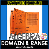 Identifying the Domain and Range (Discrete) Practice Booklet