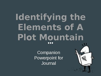 Identifying the Elements of A Plot Mountain