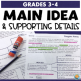 Main Idea and Supporting Details Passages and Activities