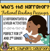 Identifying the Narrator - Reading Passages