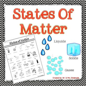 Identifying the States of Matter