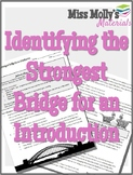Identifying the Strongest Bridge for an Introduction - No