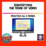 Identifying the Tense of Verbs BOOM Cards for Distance Learning