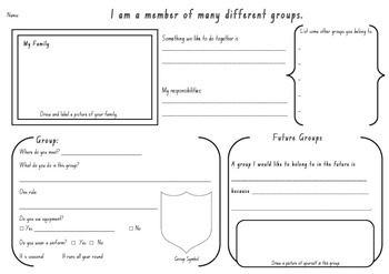 Identity - Being a Group Member (Stage 1 HSIE)