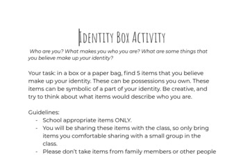 Identity Box