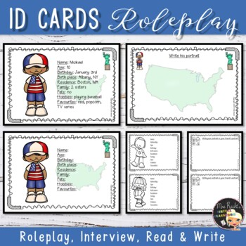 Identity Cards - Role play