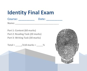 ELA Final Exam (Theme: Identity)
