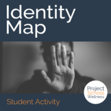 Identity Map (Character Education Lesson Plan, Middle Scho
