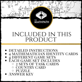 Identity Theft: Fun Escape Room Style game for Trigonometric Identities