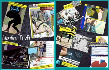 Identity Theft FREE POSTER Computer Information Theft Hacking Criminal