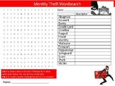 Identity Theft Wordsearch Sheet Digital Internet Security Starter Activity