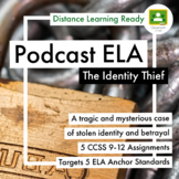 Identity Thief Podcast Lesson 5  Common Core Assignments- Targets 5 ELA Strands