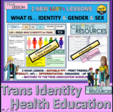Identity Trans Identity Health Education Relationships PowerPoint