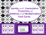 Identity and Commutative Properties (Addition & Multiplica