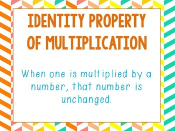 Identity and Commutative Properties PowerPoint