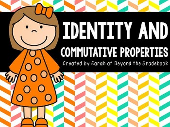 Identity and Commutative Properties Introduction PowerPoint